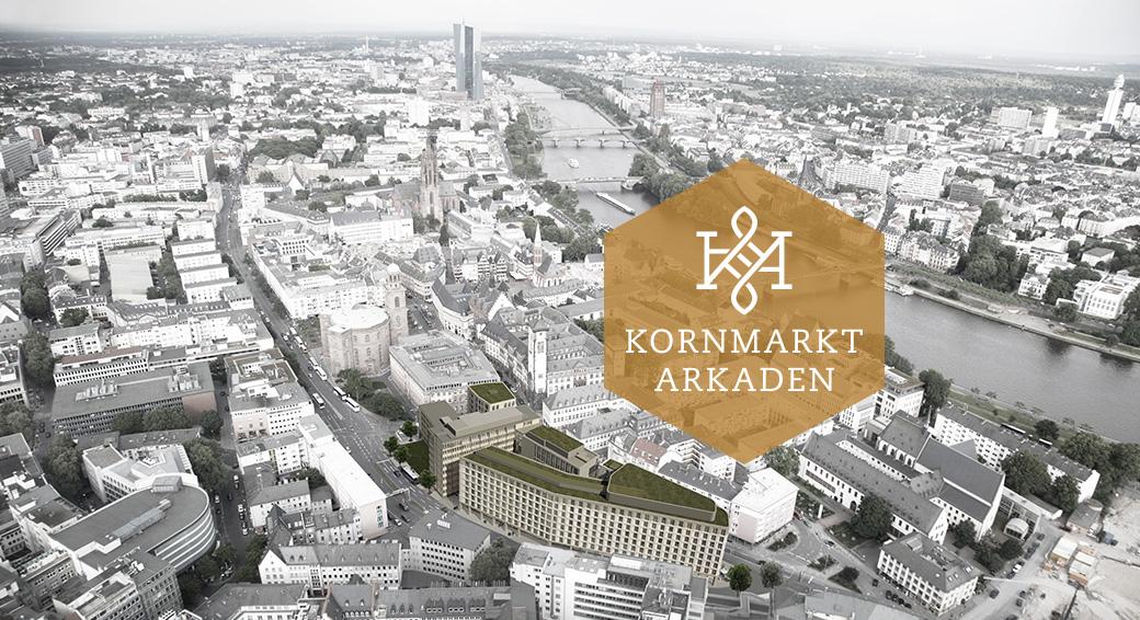 Kornmarkt Arkaden Frankfurt – Luftbild