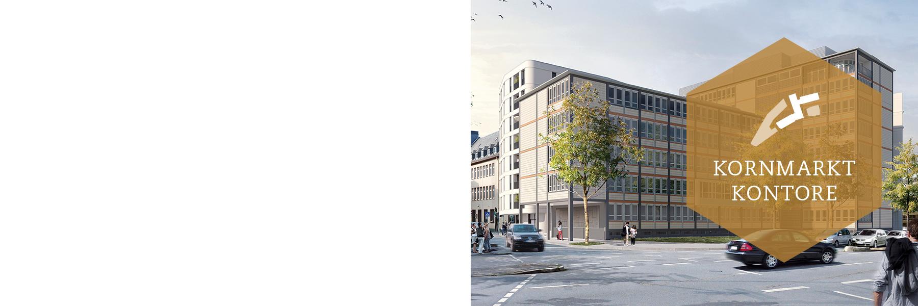 Kornmarkt Arkaden Frankfurt – Kontore