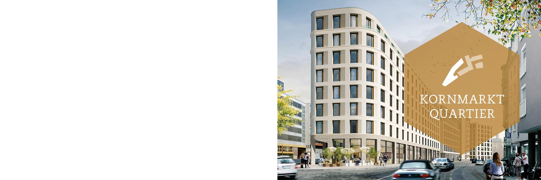 Kornmarkt Arkaden Frankfurt – Quartier